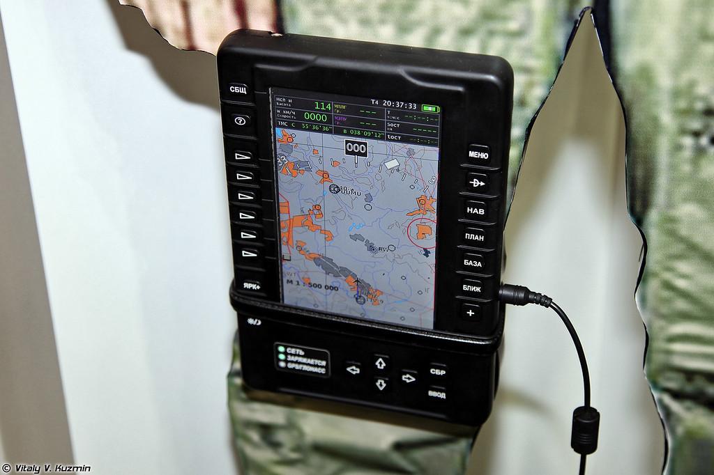 Навигационный картографический планшет А-737ПЛ (Navigation map tablet PC A-737PL)