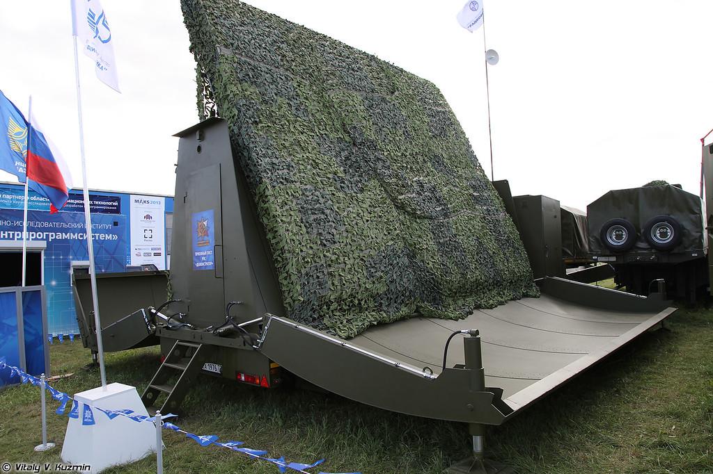 Мобильная специализированная РЛС Демонстратор (Demonstrator radar system)<br /> Приемный пост (Receiving post)