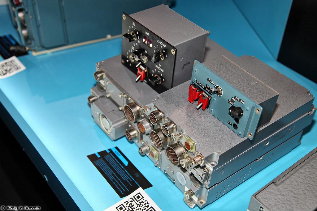 Самолетный радиолокационный ответчик 4202Р (Airborne radar transponder 4202R for Su-27/30 and Mig-29SMT)