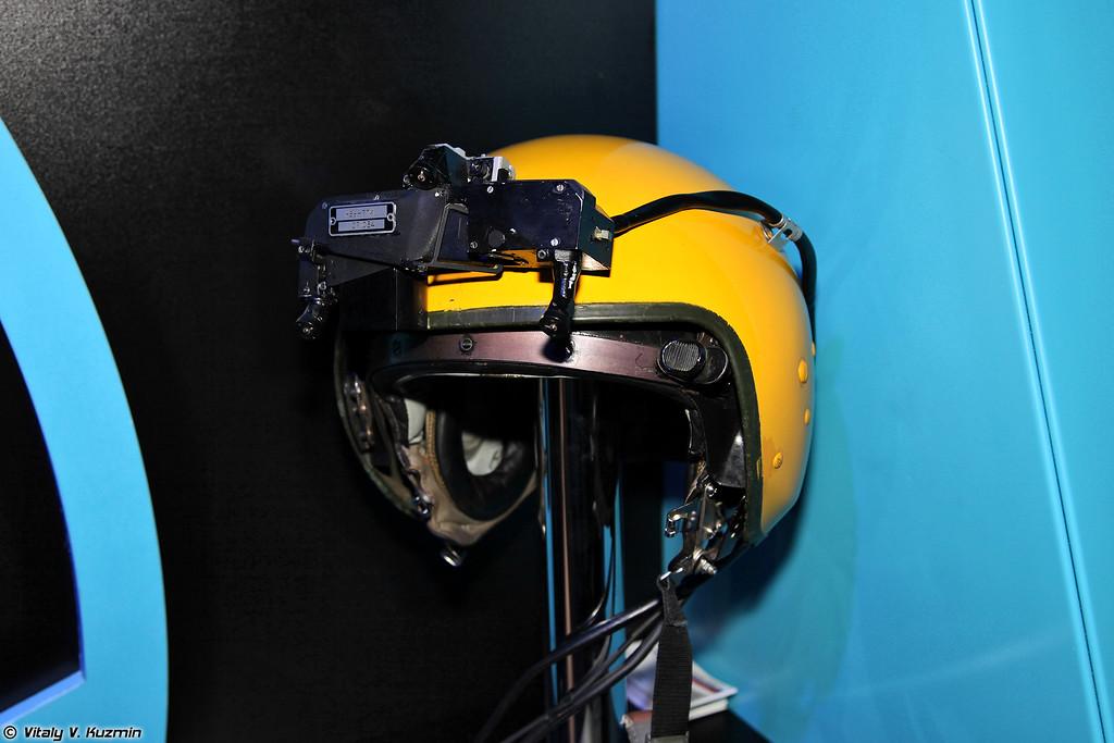 Нашлемное визирное устройство НВУ-7ТИ (Helmet-mounted target designation system NVU-7TI)