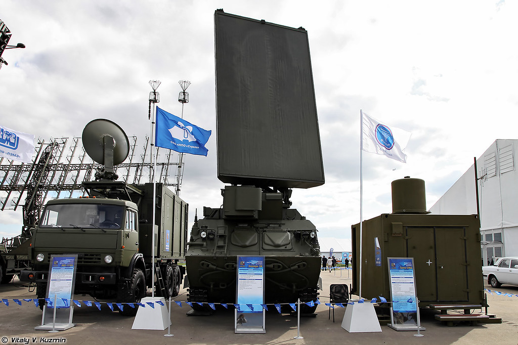 Радиолокационный комплекс разведки Зоопарк-1М (Zoopark-1M radar system)