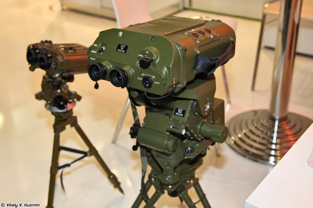 Лазерный прибор разведки ЛПР-4 1Д37 (Laser reconnaissance device LPR-4 1D37)