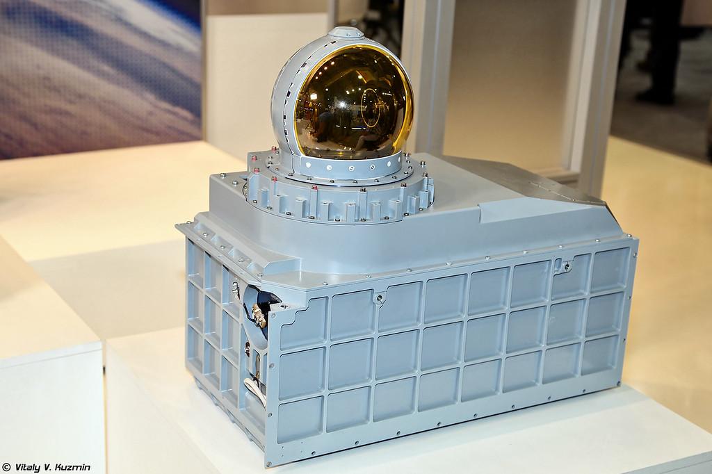 Оптико-локационная станция комплекса 101КС из состава БРЭО Т-50 (Optic-location station 101KS-V from 101KS system for T-50)