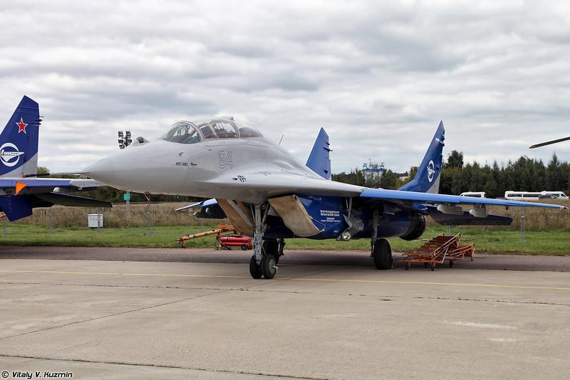 Летающая лаборатория МиГ-29УБ (MiG-29 Flying testbed)