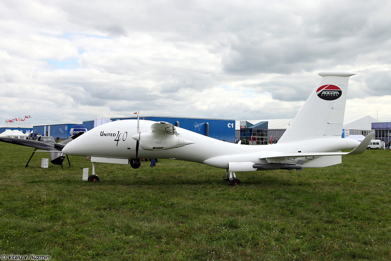 БПЛА United 40 из ОАЭ (United 40 UAV from UAE)