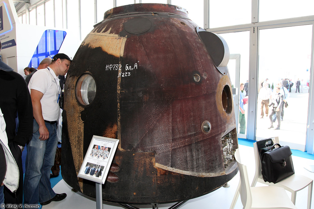 Спускаемый аппарат ТПК Союз ТМА-13 (Descent vehicle of Soyuz TMA-13)