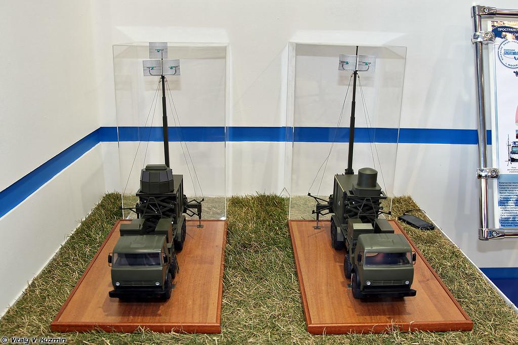 Наземный комплекс радиотехнической разведки Автобаза-М (Avtobaza-M electronic intelligence system)