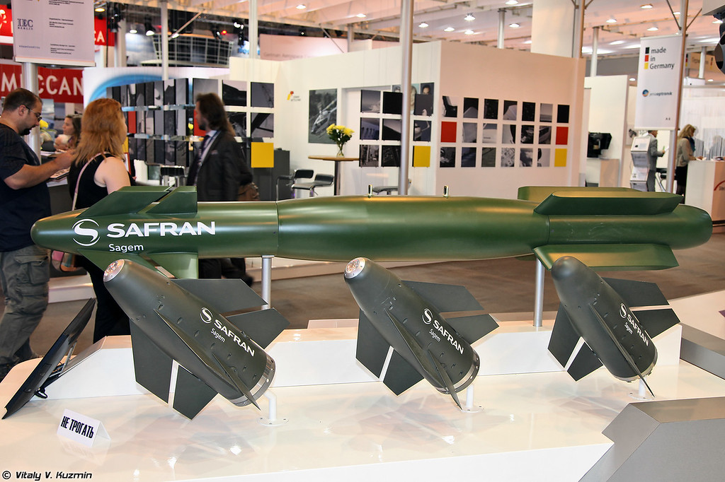"""Семейство управляемого вооружения класса """"воздух-поверхность"""" AASM Hammer (AASM Hammer weapons family)"""