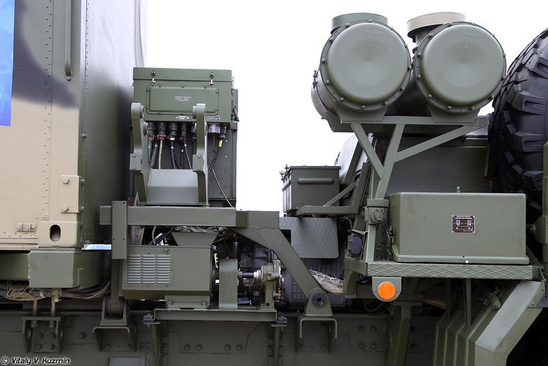Зенитная ракетная система С-350Е Витязь - Пункт боевого управления 50К6Е (S-350E Vityaz Surface-to-air missile system - 50K6E command post)