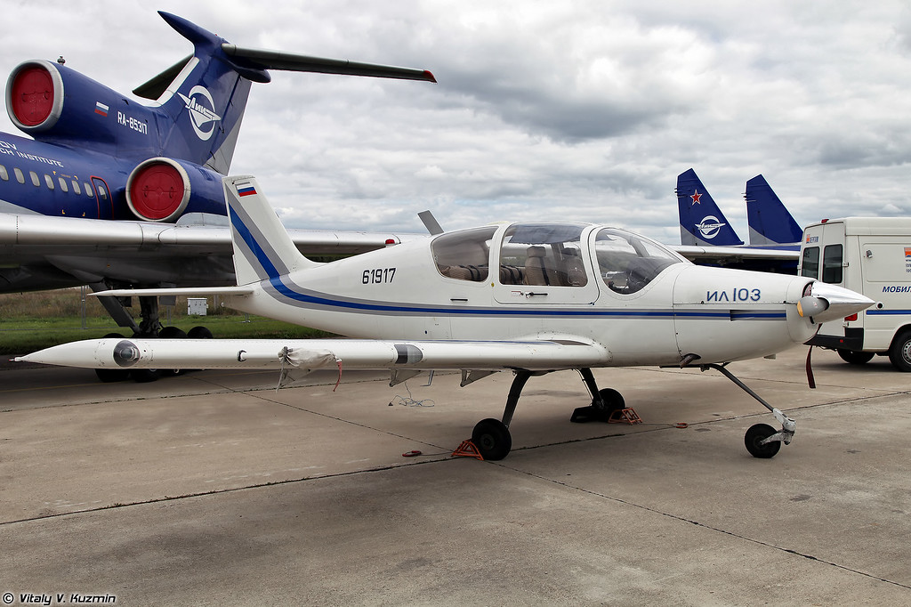 Летающая лаборатория на базе Ил-103 (IL-103 flying testbed)