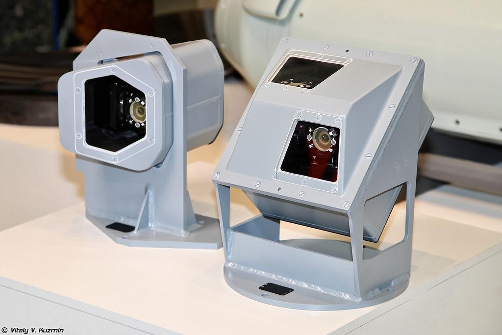 Оптико-электронная станция с датчиками (Electro-optical system with sensors)