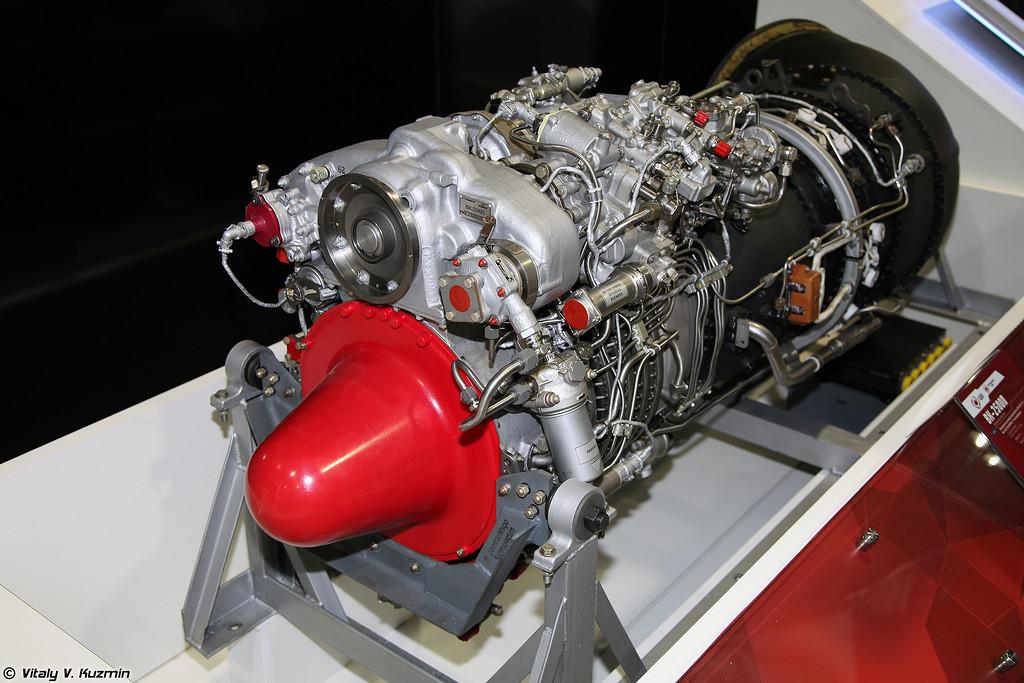 Турбовальный двигатель ВК-2500П (VK-2500P engine)