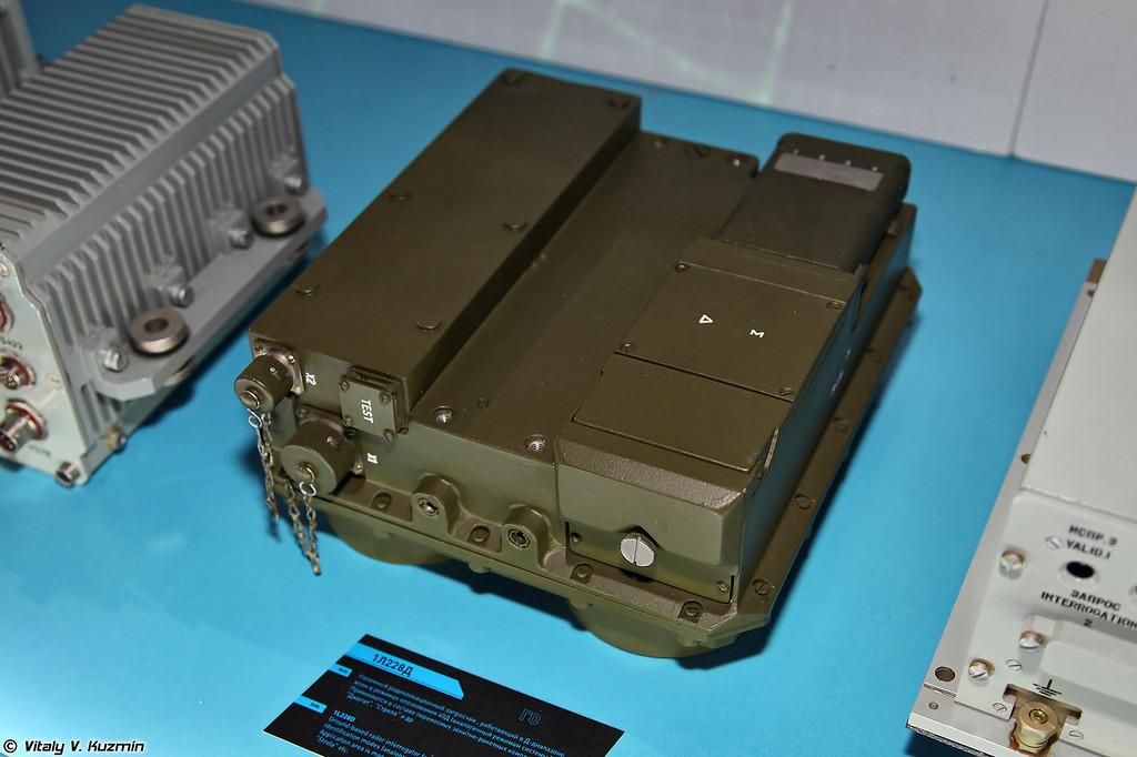 Наземный радиолокационный запросчик 1Л228Д для ПЗРК Стрела и Джигит (Radar interrogator 1L228D used in Strela and Dzhigit MANPADs)