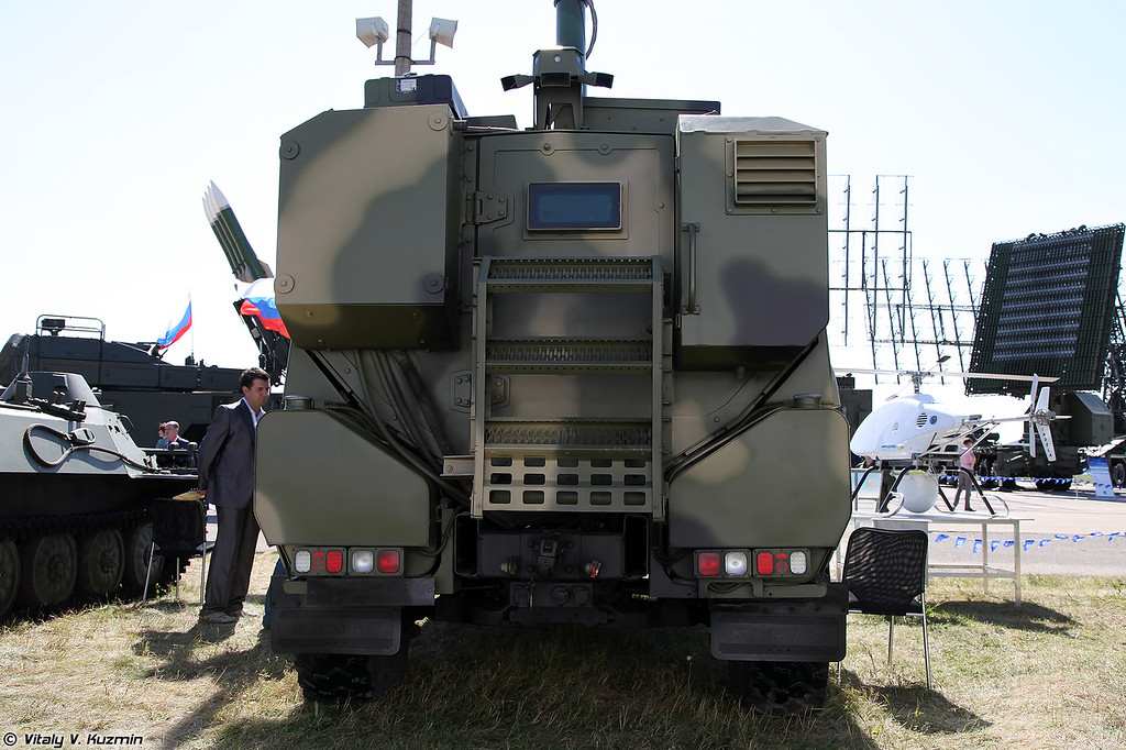 Разведывательная машина на базе КАМАЗ-53949 (Reconnaissance vehicle on KAMAZ-53949 chassis)