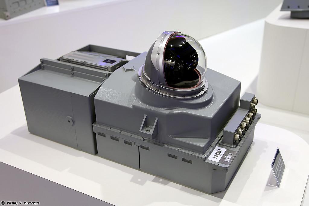 Оптико-локационная станция 13СМ-1 (Optical-location  station 13SM-1)