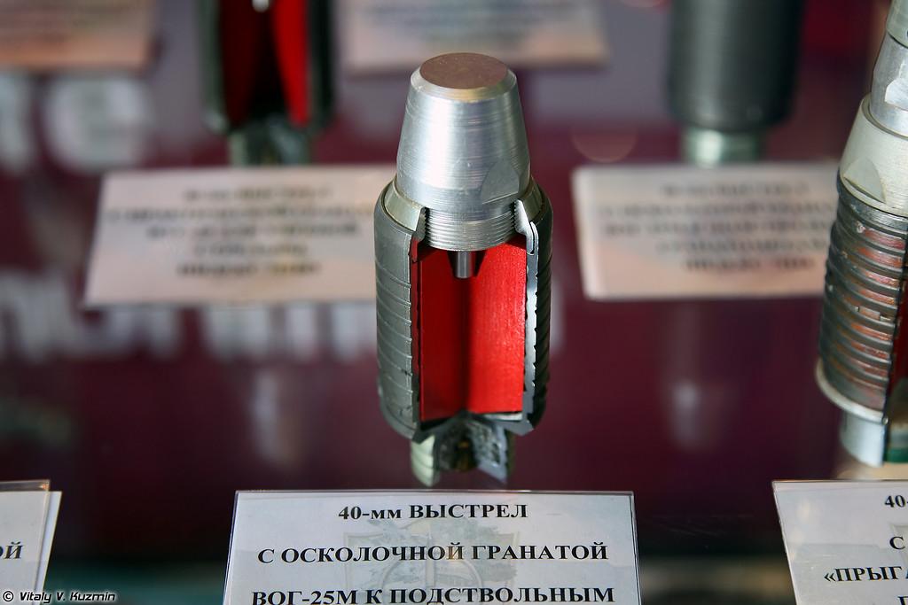 40-мм выстрел ВОГ-25М 7П44 (40mm VOG-25M 7P44 round)