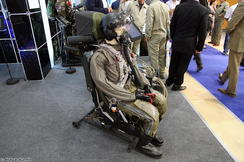 Катапультное кресло К-36Д-5 (K-36D-5 ejection seat)