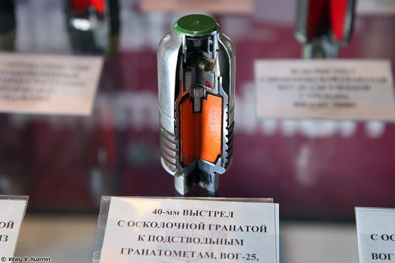 40-мм выстрел ВОГ-25 7П17 (40mm VOG-25 7P17 round)
