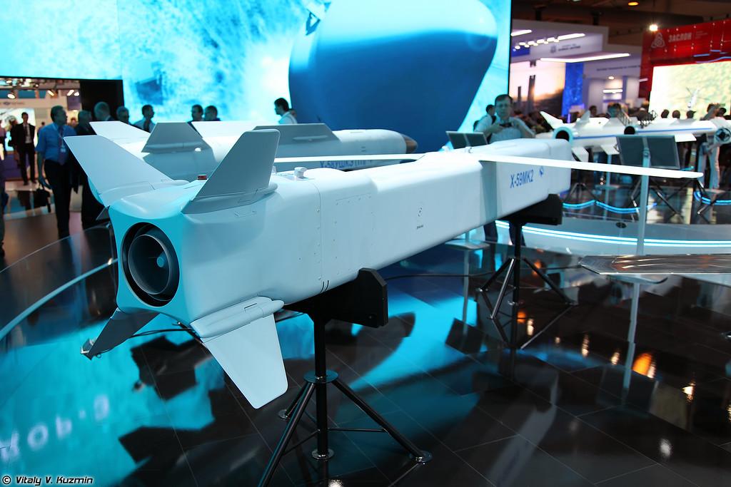 Авиационная управляемая ракета Х-59МК2 (Kh-59MK2 missile)