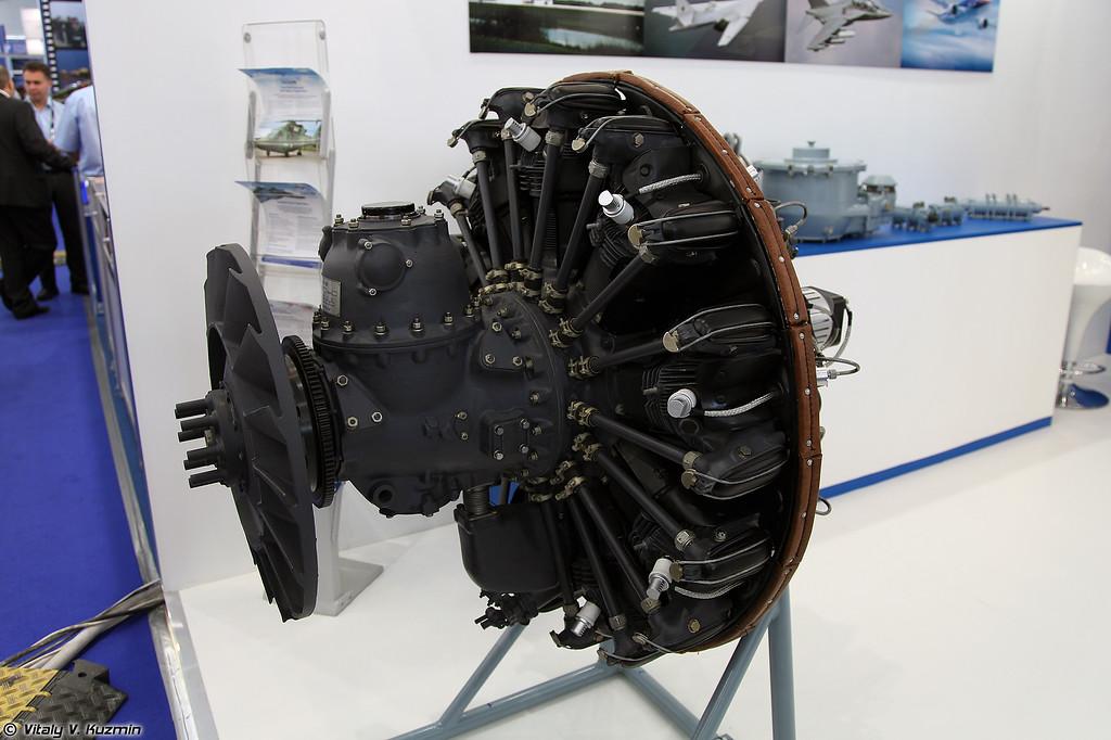 Двигатель ДВ-370В (DV-370V engine)