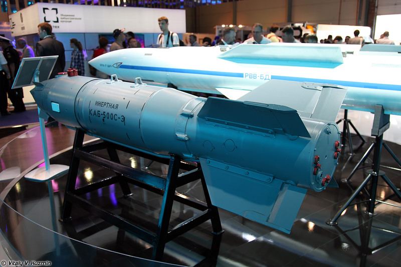 Авиабомба КАБ-500С-Э (KAB-500S-E guided bomb)