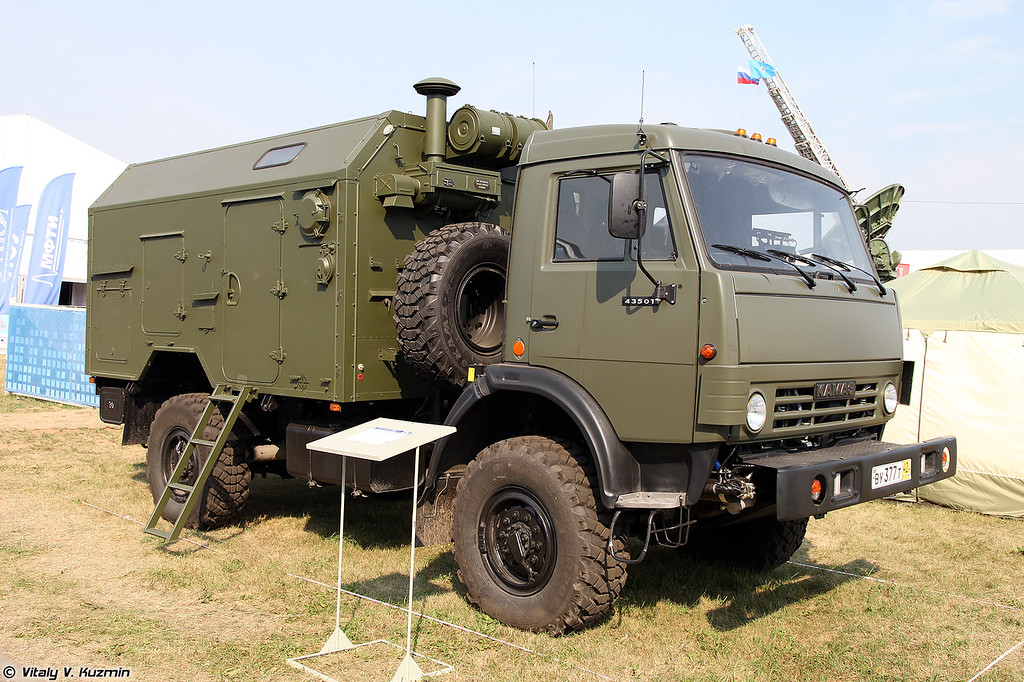 Автоматизированная приводная радиостанция ПАР-10МА (PAR-10MA signal vehicle)