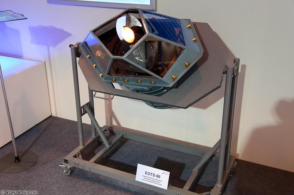 Бортовая поисково-прицельная система EOTS-86 (EOTS-86 electro-optical targeting system)