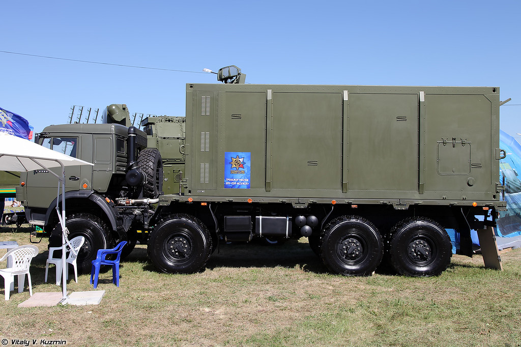 9Ф678М автономный тренажер командира и оператора БМ 9А331МЭ/МК (9F678M simulator for 9A331ME/MK commander and operator)