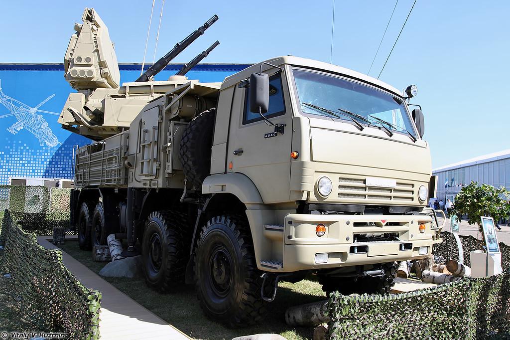 ЗРПК Панцирь-С1 (Pantsir-S1 TELAR)