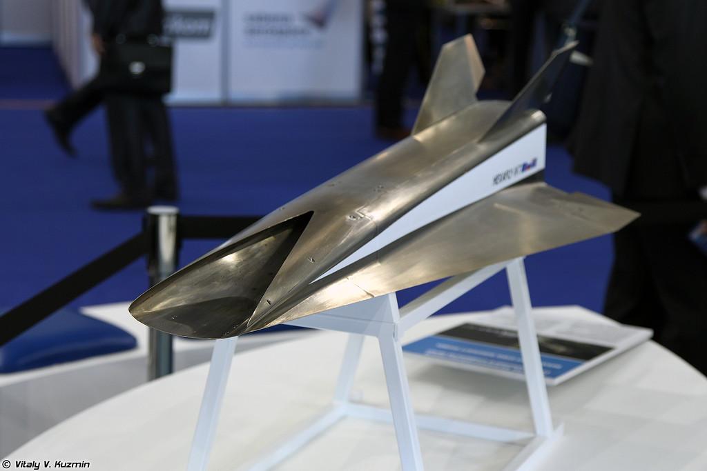 Модель высокоскоростного гражданского самолета (HEXAFLY-INT aircraft model)