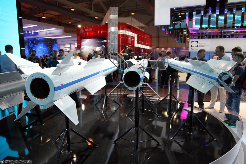Авиационные ракеты РВВ-БД, РВВ-СД и РВВ-МД (RVV-BD, RVV-SD and RVV-MD missiles)