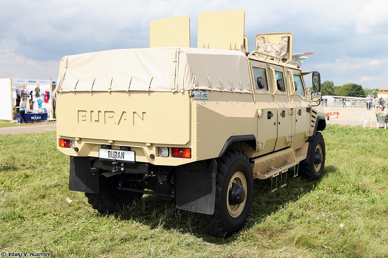 Бронеавтомобиль Буран (Buran armored vehicle)