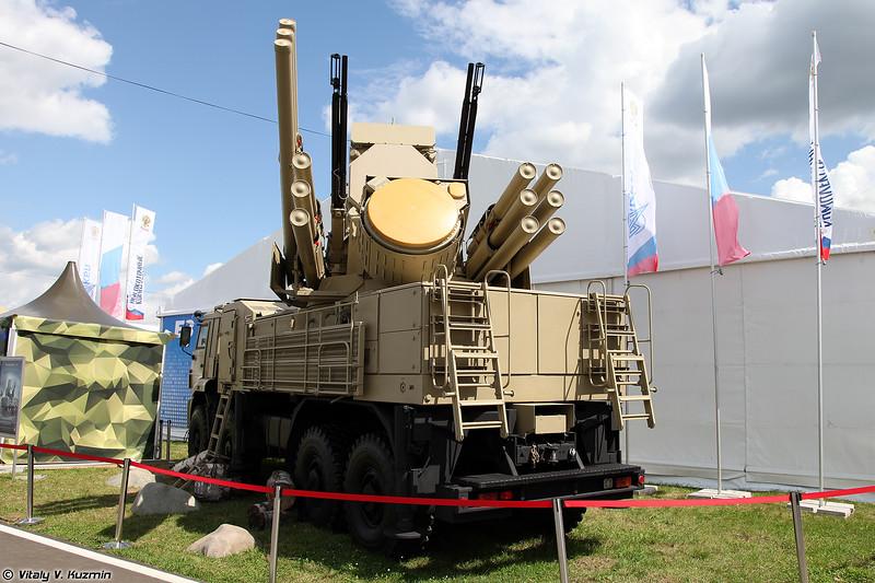 ЗРПК Панцирь-С1 (Pantsir-S1)