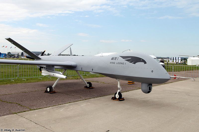 Ударный китайский БПЛА Wing Loong II (Chinese UAV Wing Loong II)