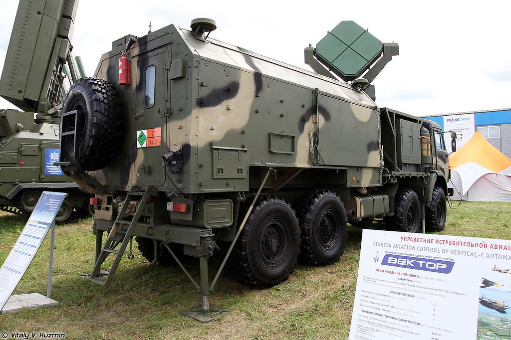 Межвидовый мобильный радиопеленгационный метеорологический комплекс 1Б77 Улыбка-М (1B77 Ulybka-M mobile meteorological system)