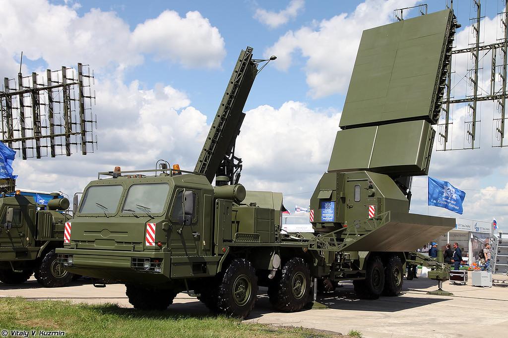 РЛК 55Ж6М Небо-М - Радиолокационный модуль сантиметрового диапазона волн РЛМ-С (55Zh6M Nebo-M radar system - RLM-S radar)