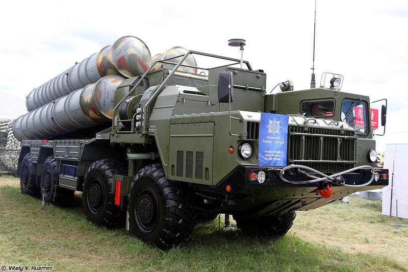 Пусковая установка 5П85СЕ3 из состава ЗРС С-400 (5P85SE3 TEL for S-400 air defence system)