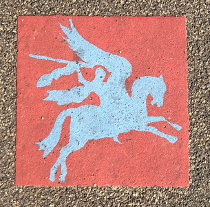 Insignia of the British 1st Airborne Division - Pegasus