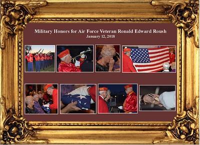 1-12-18  Service for AF Vet.  Ronald Edward Roush