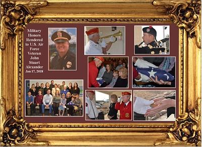 1-17-18 Service for John Stuart Alexander Jr.