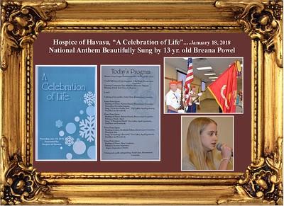 1-18-18 Hospice of Havasu, Celebration of Life
