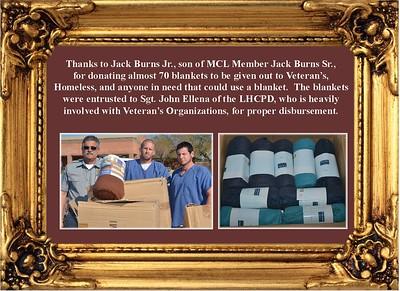 2-20-18 Blanket Donation from Jack Burns Jr.