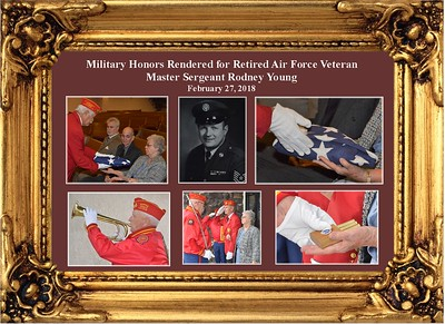 2-27-18 Military for Retired AF Master Sgt. Rodney Young