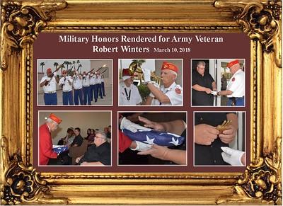 3-10-18 Military Honors for Army Veteran Roberts Winters
