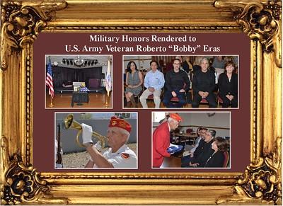 3-25-18 Military Honors for Roberto Eras