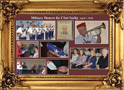 4-7-18  Service for Clint Seelig