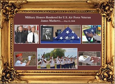 5-12-2018 Service for A.F. Veteran James Mathews