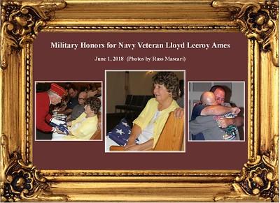 6-1-18 Serv. for Navy Veteran Lloyd Leeroy Ames