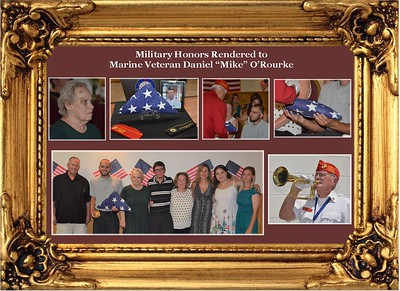 7-28-18 Service for Marine Daniel Mike O'Rourke