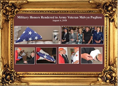 8-4-18 Military Honors for Melvyn Pugliese